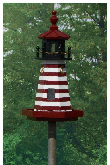 West Quoddy Lighthouse - Red & White