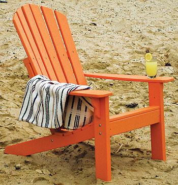 Traditional Poly Adirondack Chair