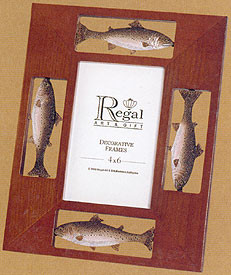 Trout Picture Frame