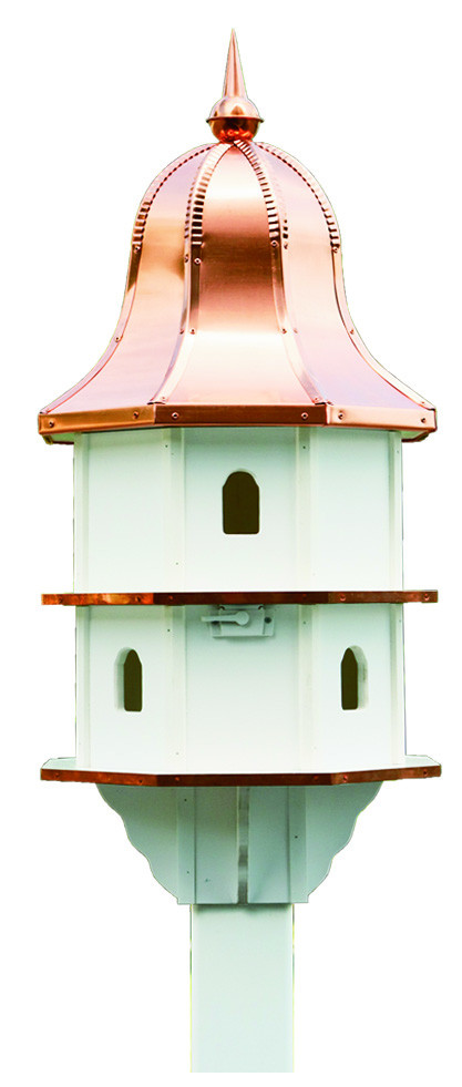 Large Deluxe Poly Bird House