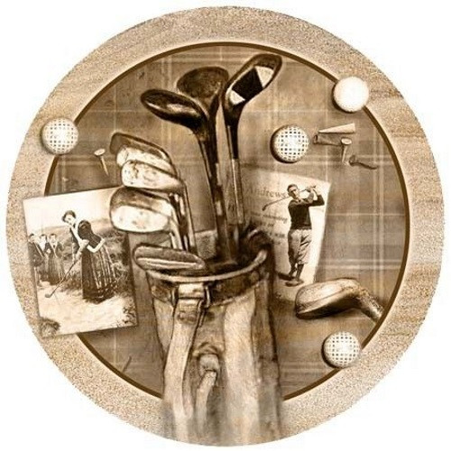 Golf Treasures Coaster Set