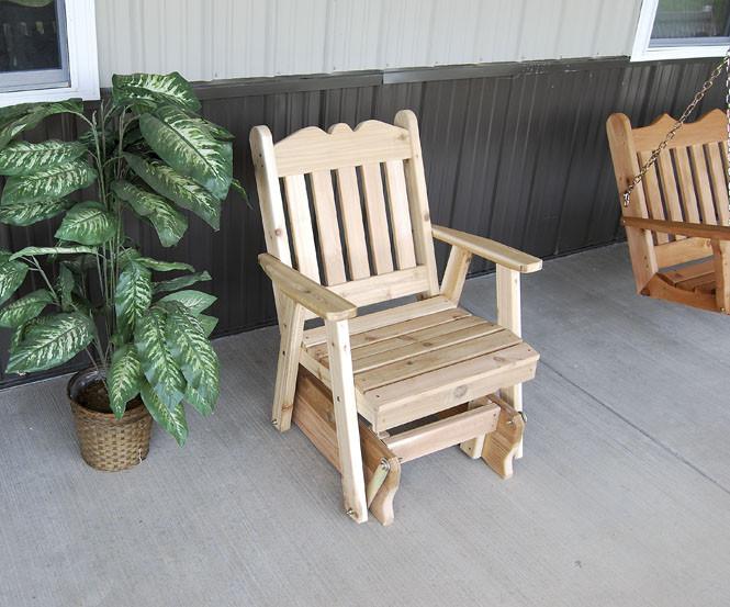 Cedar Royal English Glider Chair