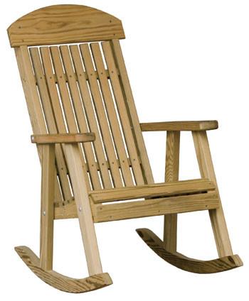 Wooden Porch Rocker