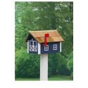 Traditional Dutch Barn Mailbox