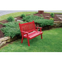 4' Traditional English Yellow Pine Garden Bench