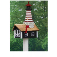 Traditional Lighthouse Mailbox - West Quoddy