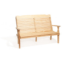 4' Curve Back Bench