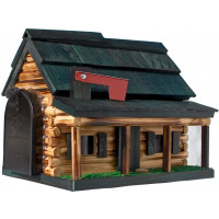 Log Cabin Mailbox - Greef roof