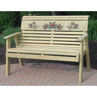 Rollback Rose Bench