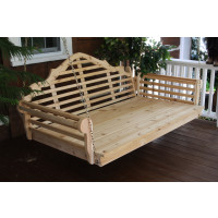 "75"" Cedar Marlboro Single Mattress Swingbed"