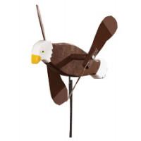 Bald Eagle Whirlybird Garden Stake