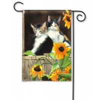 Calico Kitties - Garden Flag
