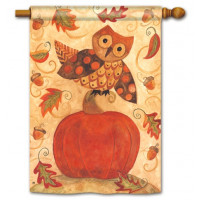 Fall Frolic Standard Flag