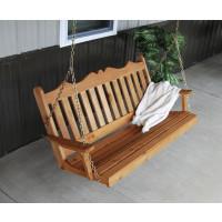 6' Cedar Royal English Garden Swing