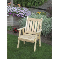 Traditional English Dining Chair - Cedar
