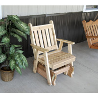 Cedar Traditional English Glider Chair