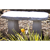 Cast Stone - Medium Bench