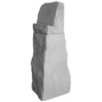 Stone with Easel