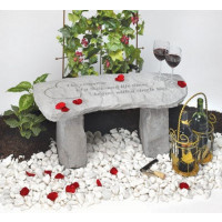 The romance of a thousand lifetimes...Decorative Garden Bench