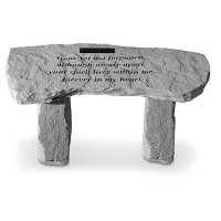 Gone Yet Not Forgotten...Memorial Garden Bench