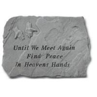 Until We Meet Again...Memorial Garden Stone