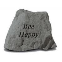 Bee Happy Decorative Garden Stone