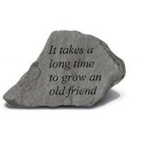 It Takes a Long Time...Decorative Garden Stone