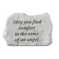 May You Find Comfort...Memorial Garden Stone