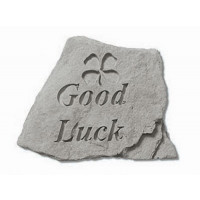 Good Luck Decorative Garden Stone