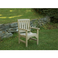 Poly English Garden Chair - Weatherwood