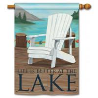 Lake Life Standard Flag