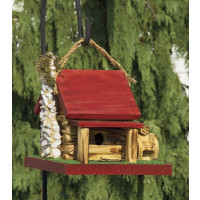 Mill Cabin Birdhouse