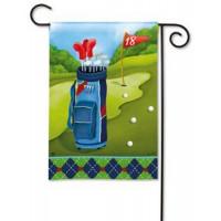 Pin High Garden Flag