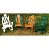 Hickory Porch Rocker - Poly