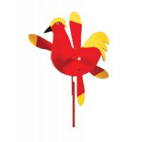 Rooster Whirlybird Garden Stake