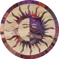 Sun/Moon Coaster Set