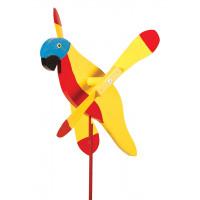 Sunshine Parrot Whirlybird Garden Stake