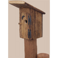 Rustic Outhouse Birdhouse