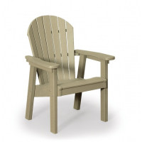 Great Bay Poly Chair - Weatherwood