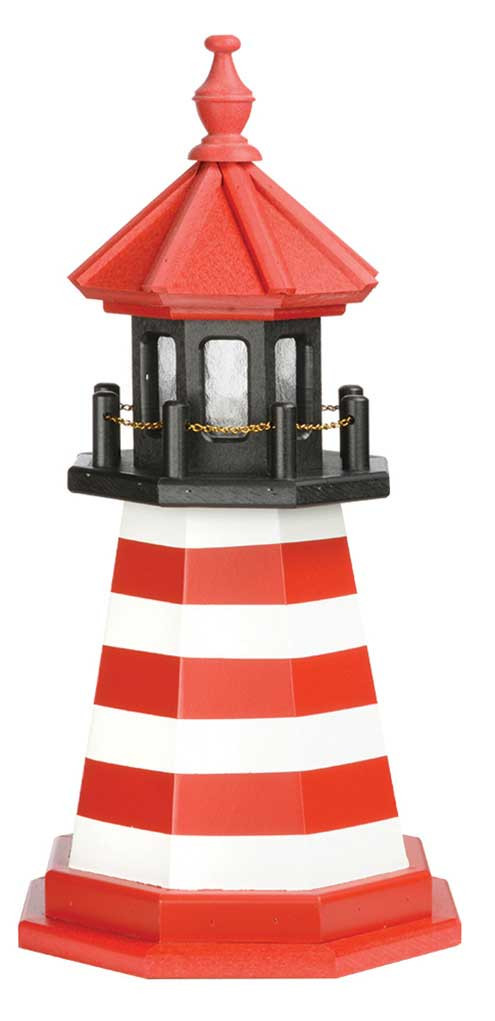 2' West Quoddy Wooden Lighthouse
