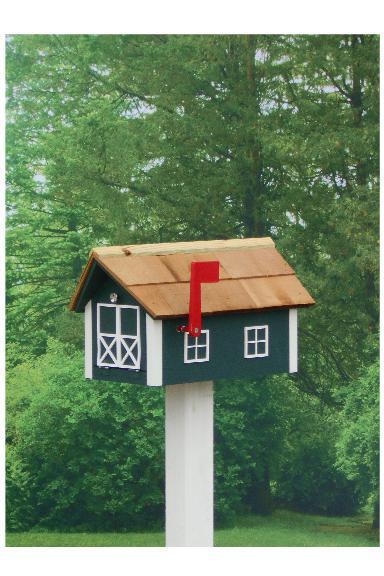 Traditional Dutch Barn Mailbox - Hunter & White