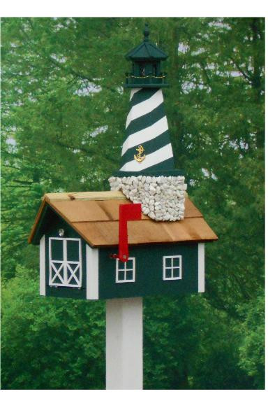 Traditional Lighthouse Mailbox - Hunter Cape Hatteras