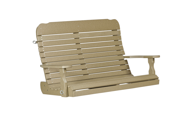 5' Easy Porch Swing - Weatherwood