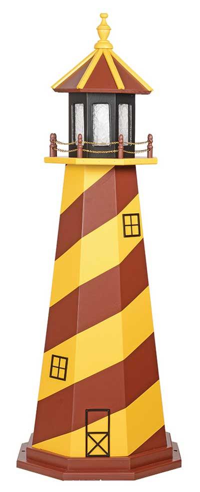Redskins Wooden Garden Lighthouse