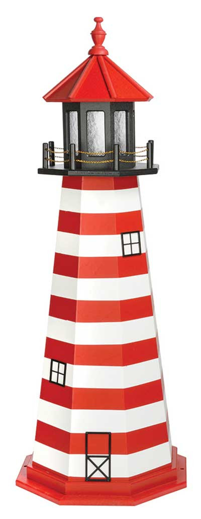 5' West Quoddy Wooden Lighthouse
