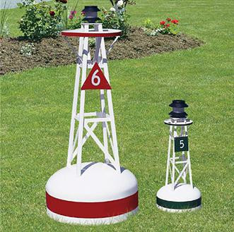 Solar Powered Ornamental Buoys