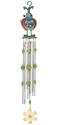 Green Beetle Wind Chimes