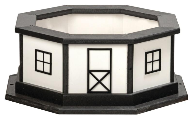 Lighthouse Base shown in Black & White