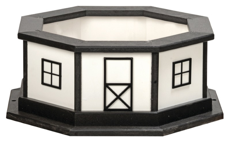 Added Base in Black & White