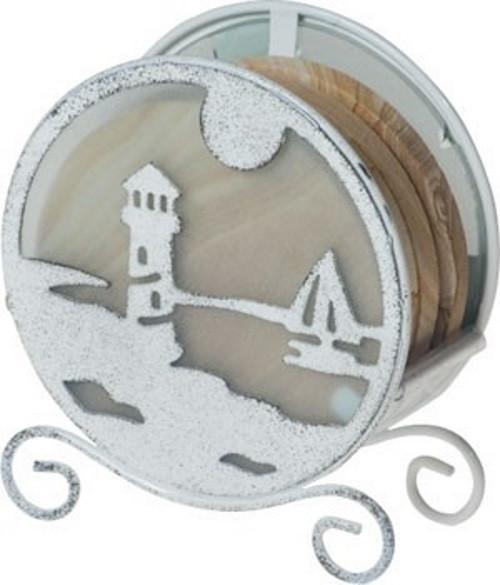 Lighthouse Coaster Holder